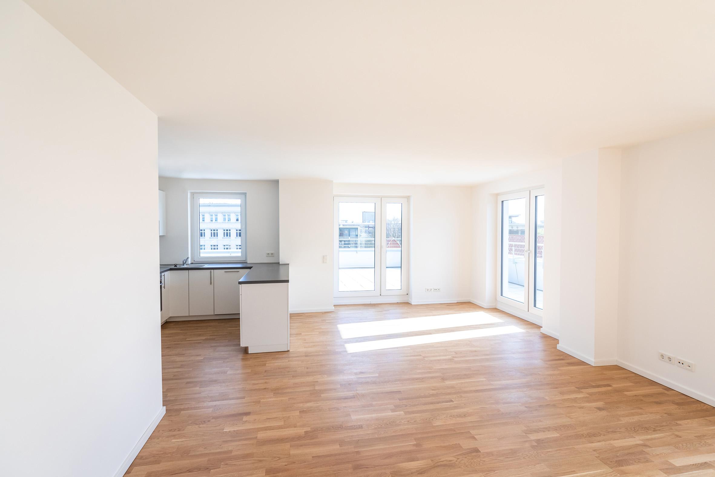 Whg 34, 3 Zimmer, HC Hagemann, das Weiße Haus, Hamburg, Harburg